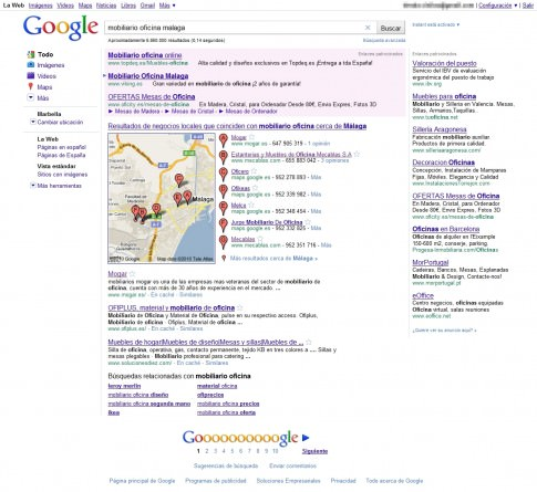 3 resultados de Google