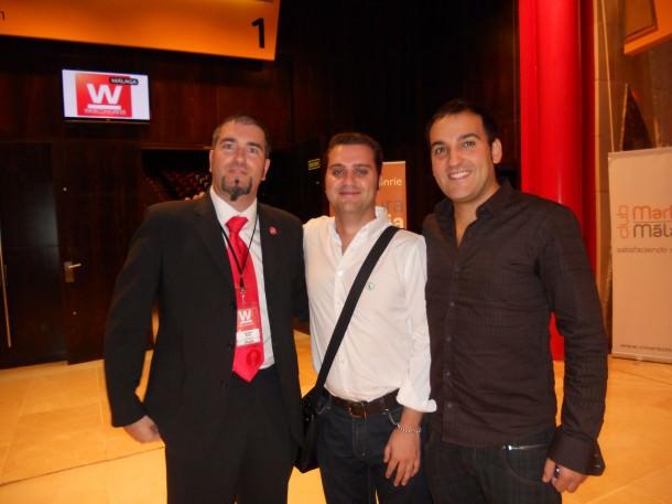 Señor Muñoz, Tomas Rufino y Javier Moral