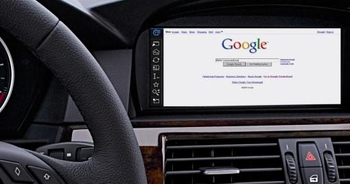 Browser en un coche