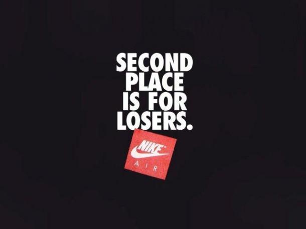 De NIKE aprendí: el segundo puesto es el primer perdedor