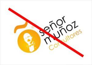 Logotipo incorrecto Señor Muñoz Consultores