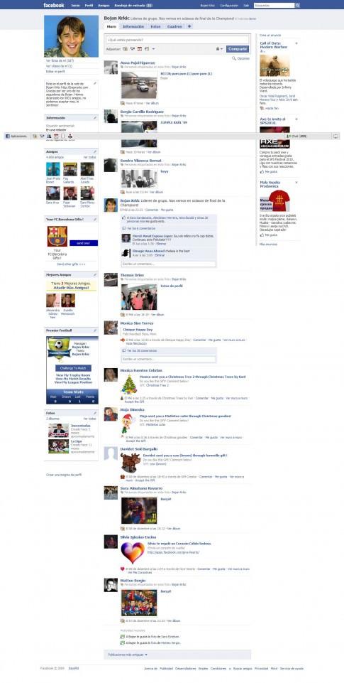 Perfil Bojan Krkic online