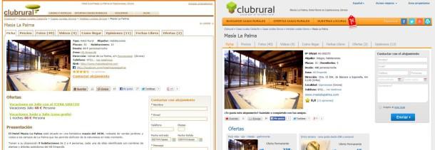 Rediseño Club Rural
