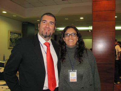 Foto con Tana, espero que no se cabree por habersela robado :D